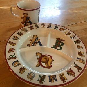 Tiffany & Co Alphabet Bear Set